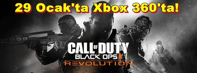 Black Ops 2:Revolution 29 Ocak'ta Xbox 360'ta!