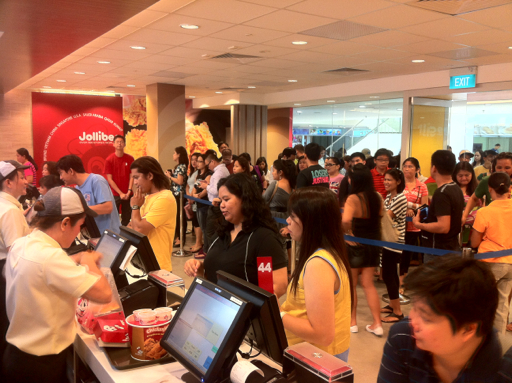 Jollibee Opened First Store In Singapore Onlywilliam