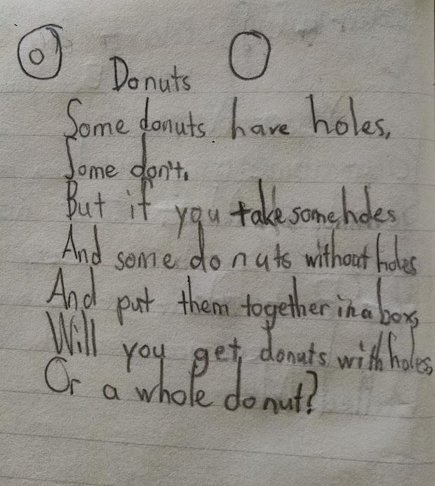 Donuts poem