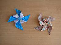 horquillas molinillo/pinwheel hairpins