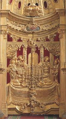 Иконостас Преображенской церкви в Таллине. Царские врата Преображенского придела.