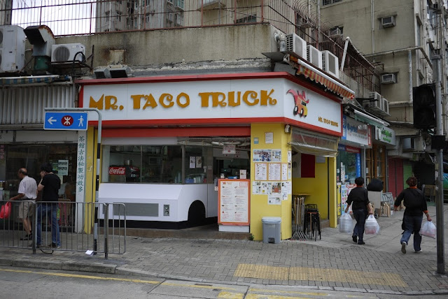 Mr. Taco Truck restaurant in Hong Kong