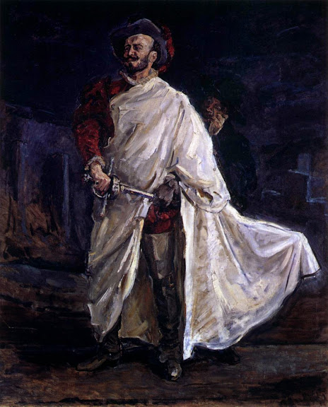 Max Slevogt - The Singer Francisco d'Andrade as Don Giovanni