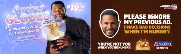 Snickers Runs Comical Before and After Ads