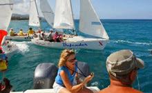 J/22s start at Jamaica Jammin regatta