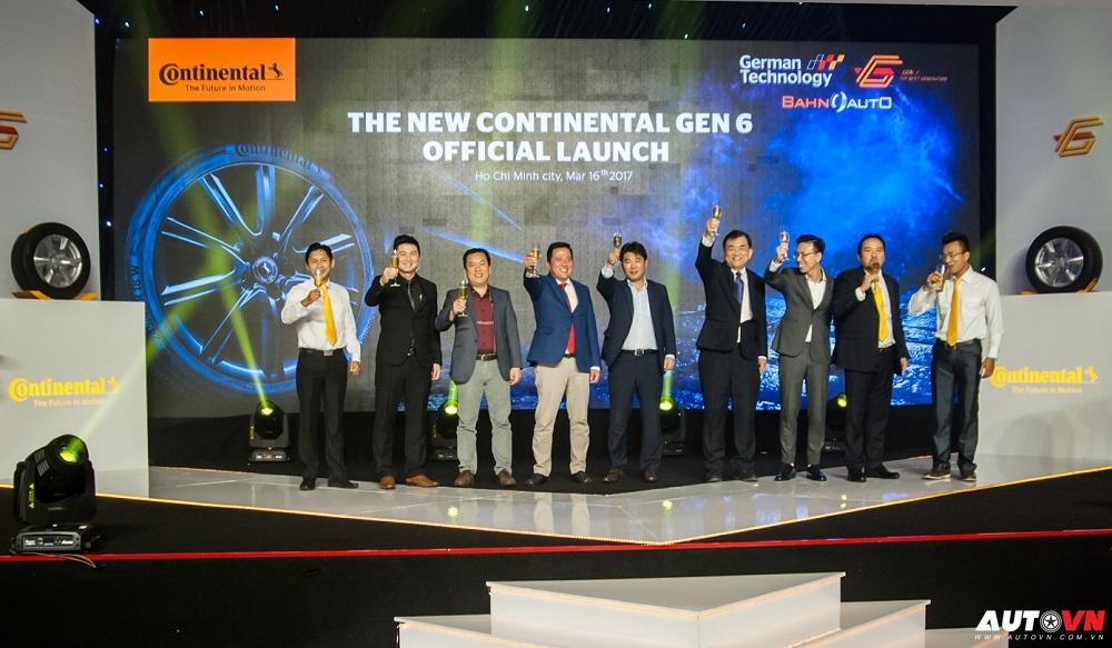 Continental Việt Nam trình làng 2 dòng lốp thế hệ mới