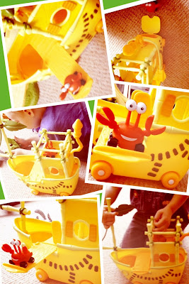 jungle junction taxivrab boat playset - emma in bromley