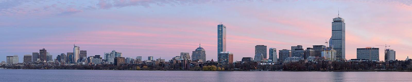 Boston skyline from MIT