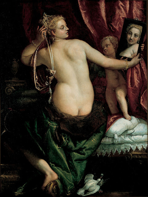 Paolo Veronese - Venus with a mirror