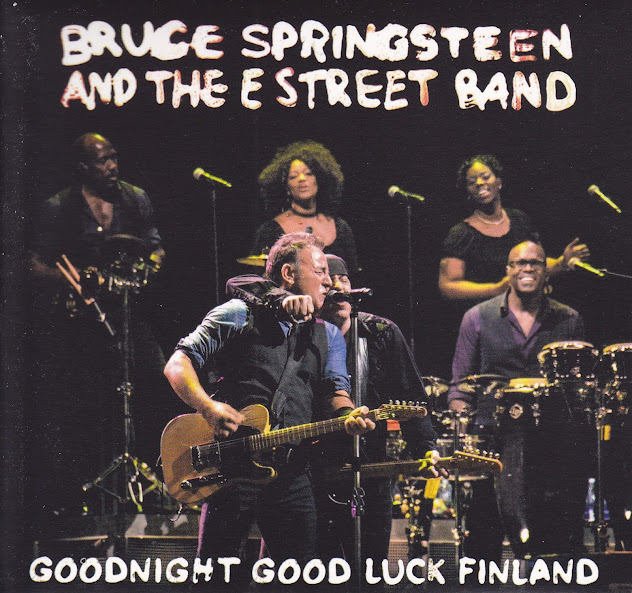 Bruce Springsteen - HK Areena, Turku, 8 May 2013 (CD & Covers