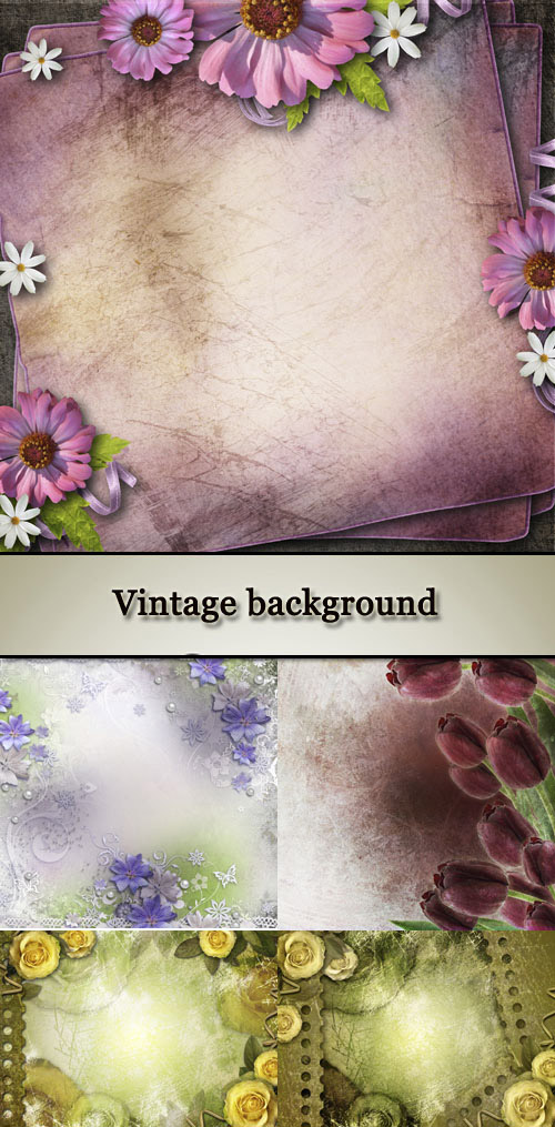 Stock Photo: Vintage background