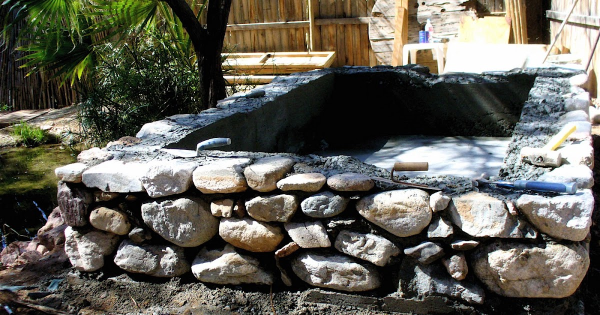Alt Build Blog Stone And Concrete Tub Made With Forms