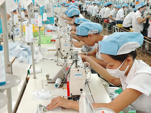 Đơn hàng may mặc cần 9 nữ thực tập sinh làm việc tại Toyama Nhật Bản tháng 03/2017