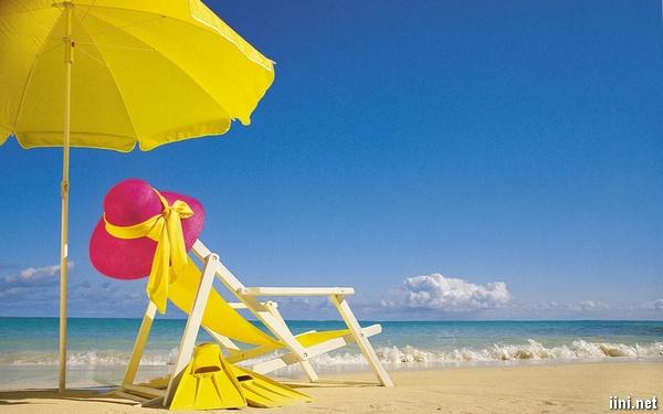 du lịch mùa hè trên biển