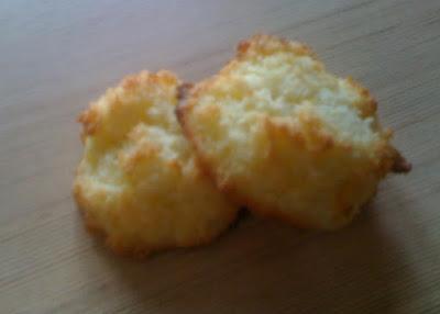 Les congolais de Finette - recette indexée dans les Desserts