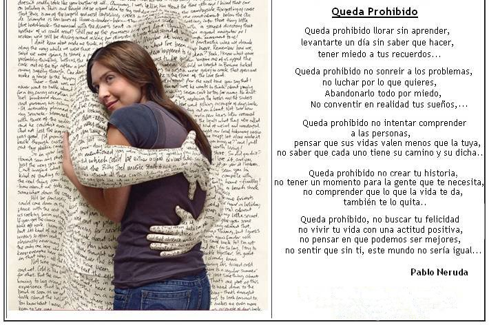 Frase De Pablo Neruda Queda Prohibido Llorar Sin Aprender