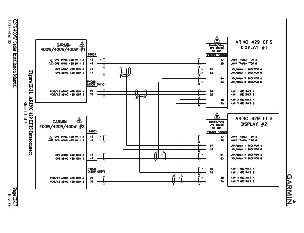 garmin 430 wiring diagram