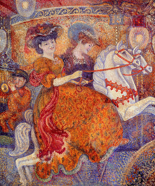 Georges Lemmen - Carnival, The Carousel