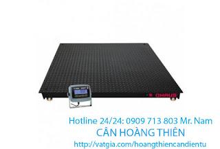 cân sàn điện tử ohaus t31p 2 tấn