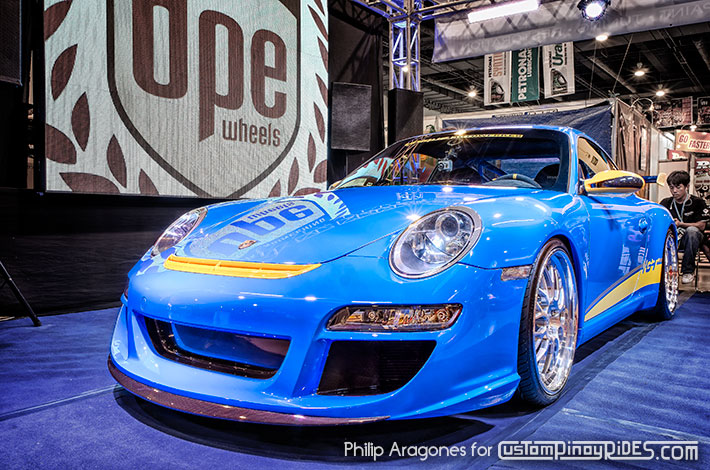 2005 Porsche Carrera S 997 by Unique Autoworks - 2012 Manila Auto Salon Best of Show Custom Pinoy Rides Car Photography pic1 Philip Aragones