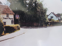 The Prince Regent now known as Sycamore House, in Hauxton Road, Little Shelford