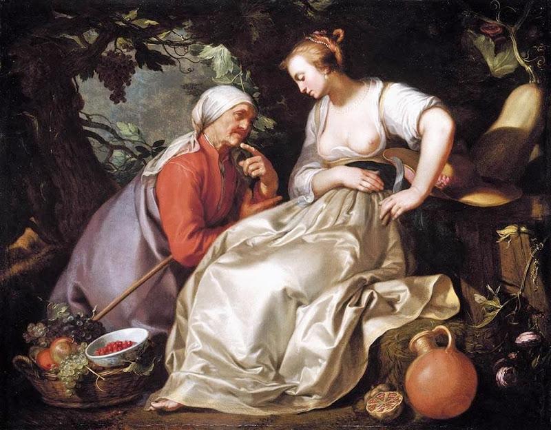 Abraham Bloemaert - Vertumnus and Pomona