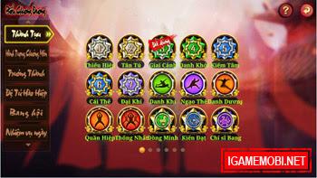 Game Kiếm Hiệp 2.7.0 phiên bản Danh Dương Tứ Hải 3
