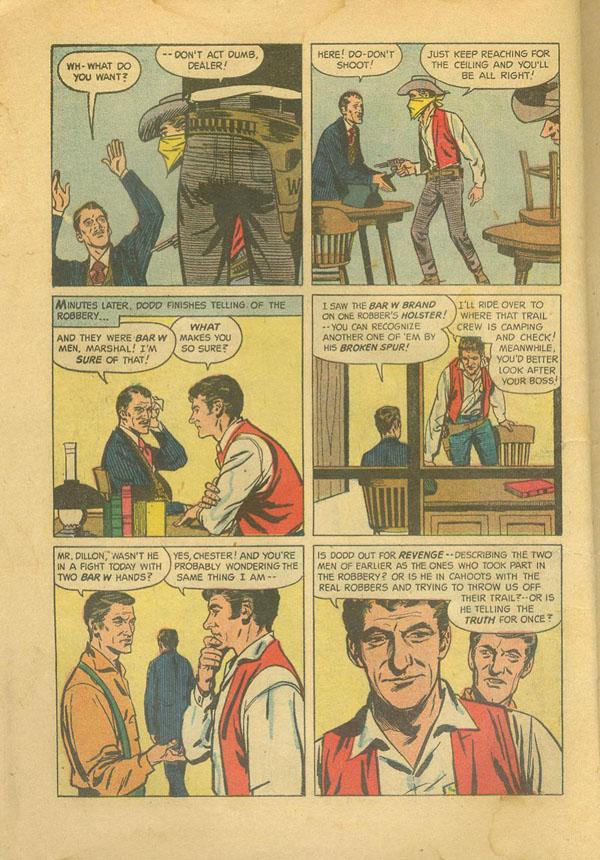 Gunsmoke Comics - The Marshal's Gamble - Gunsmoke Radio