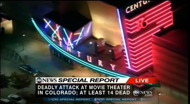コロラド州の銃乱射 「バットマン」上映中に乱入「俺はジョーカーだ」12人死亡58人負傷