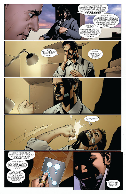 Invincible Iron Man #520 page 20