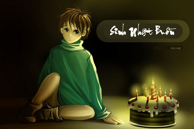1001 bài thơ Sinh Nhật Buồn, status ngày sinh nhật cô đơn 1 mình