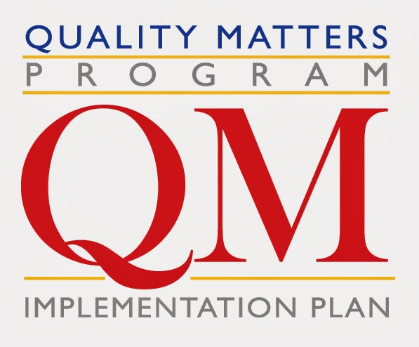 Logo for Quality Matters Program Implementation