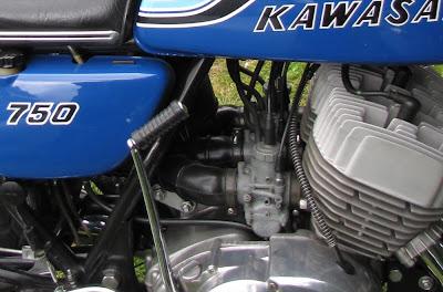 40 Years On  The Kawasaki 750 H2 - Blue Haze VJMC Manawatu