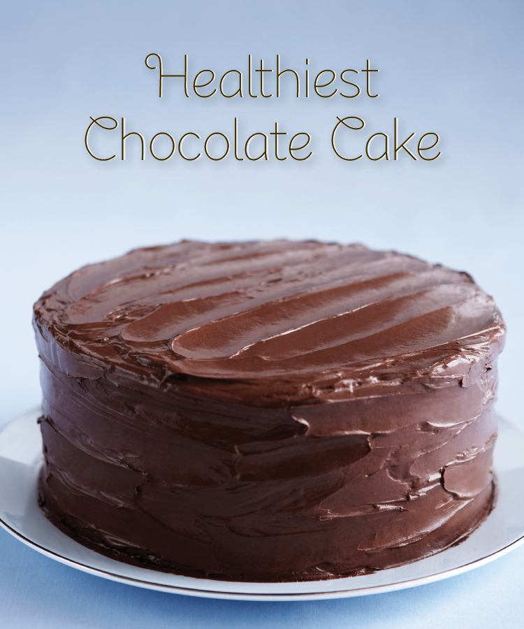 Healthy Whole Wheat Dark Chocolate Cake