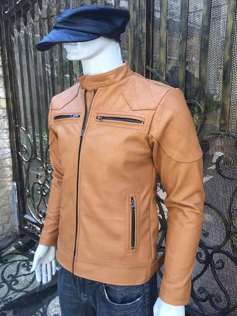 áo khoác da nam cao cấp đẹp thời trang