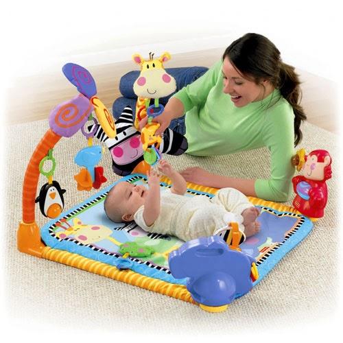 Đồ chơi phù hợp cho trẻ dưới 3 tháng tuổi