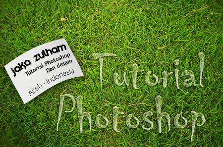 Membuat efek Air dengan Adobe Photoshop