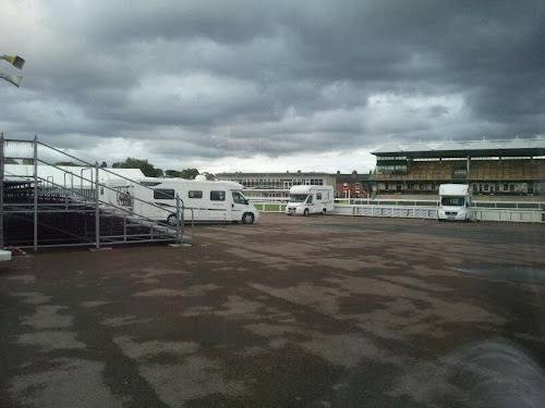 Warwick Racecourse Caravan Club Site at Warwick Racecourse Caravan Club Site