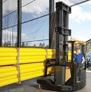 Multyway Reach Truck - xe nâng chạy ngang