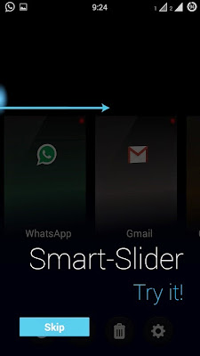 Using slider in F switcher