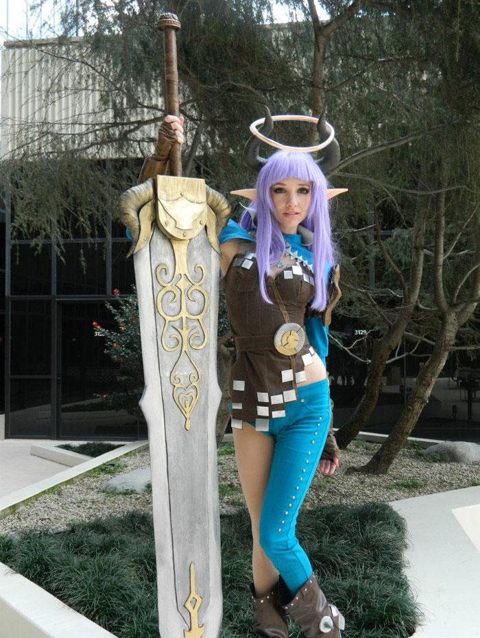 Tera Online: Nữ sát thủ tuyệt đẹp của tộc Castanic