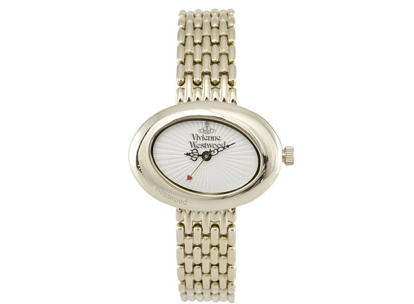 vivienne westwood woman lady watch metalic