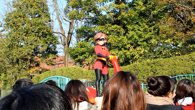 日本 東京 迪士尼 遊行