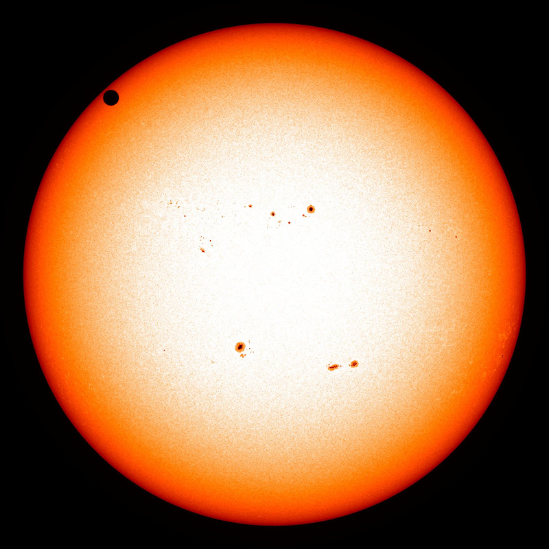 NASA's SDO Satellite Captures 2012 Venus Transit. Credit: NASA/SDO, HMI