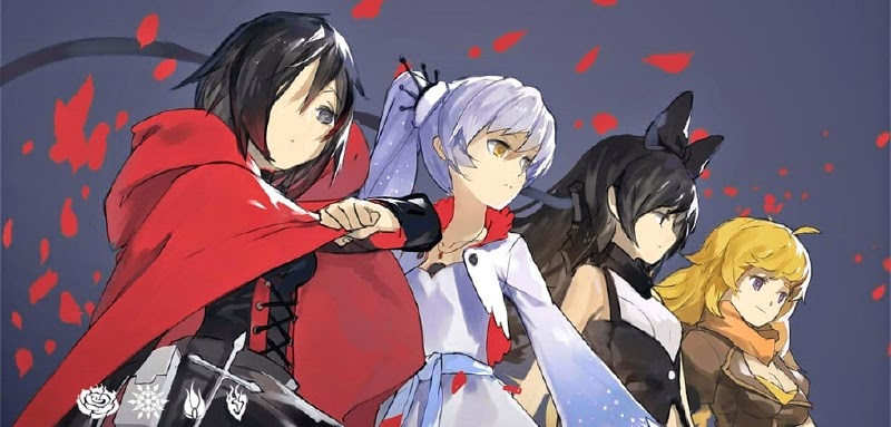 Rwby Red White Black Yellow 2
