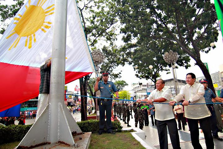 Flag-raising ceremony