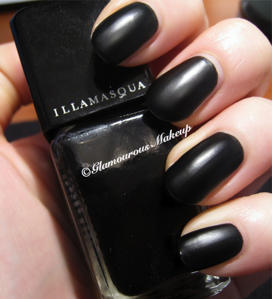 How Long To Let Nail Polish Dry Before Top Coat: NOTD: Illamasqua Scorn