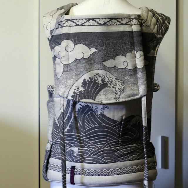 Oscha Okinami Zen Wrapconversion Mei Tai Style - MamaMerel