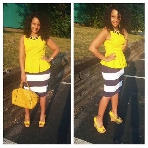 Curlybyrdie Chirps: Mello In Yellow And Stripes