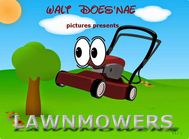 Lawnmowers movie poster